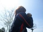 新しいカメラで練習中