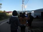 合宿2日目 朝の散歩